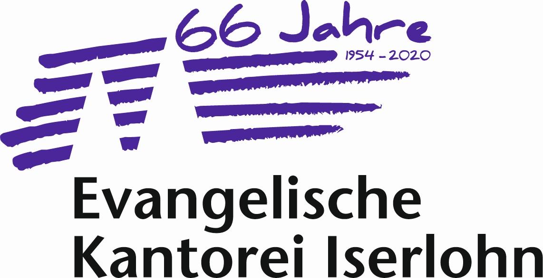 Logo Kantorei 66Jahre offiziell neu
