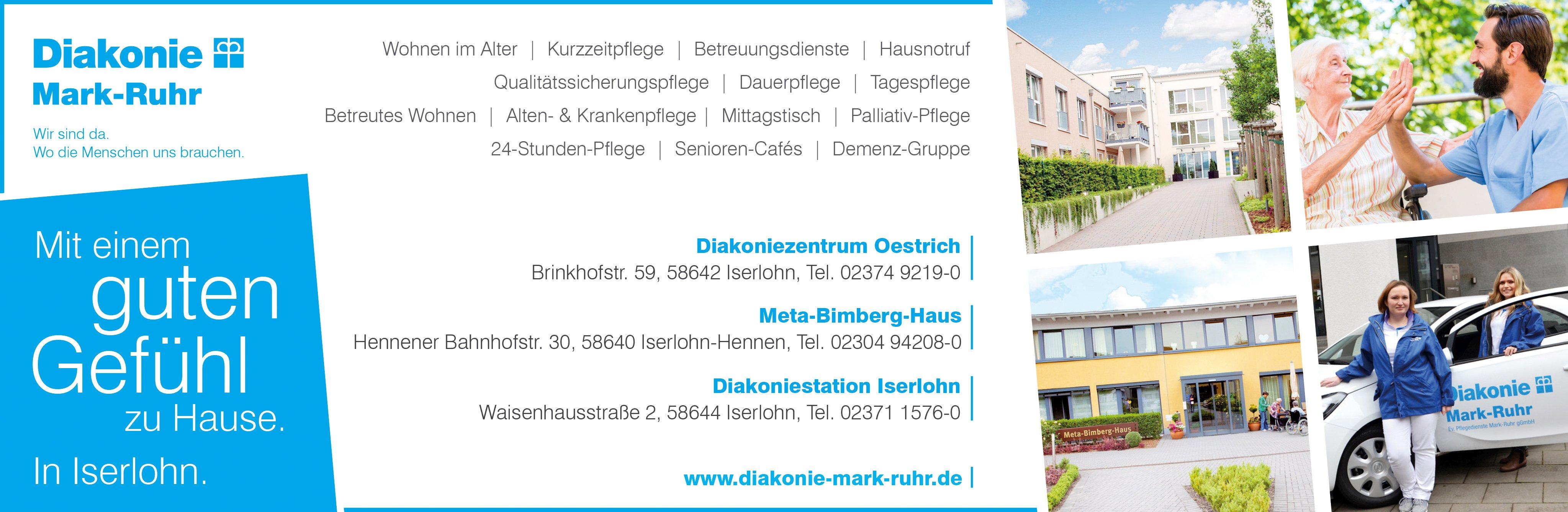 DMR Pflege Gemeinschaftsanzeige Iserlohn newsletter neu